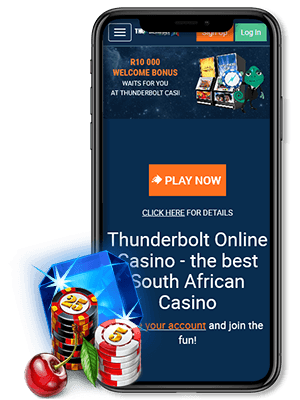 Thunderbolt casino Mobile