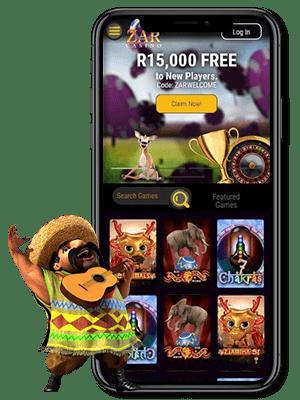ZAR casino mobile